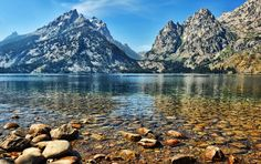 Clear Water at Jenny Lake by Jeff Clow, via 500px
