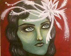 Nostalgia - my acrylic painting on canvas