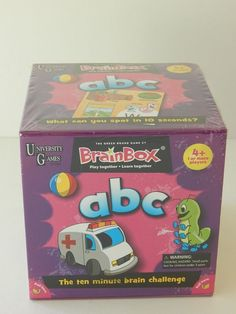 ABC Game 10 Minute Challenge Educational Fun Game Kids Adults New Home School #UniversityGames
