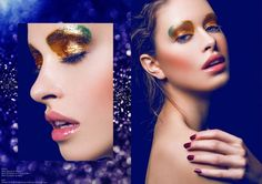 Luscious Lipstick Editorials : Vogue Germany July 2014