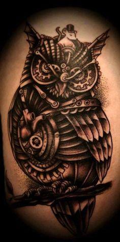 120 Owl Tattoos That Will Keep you Awake