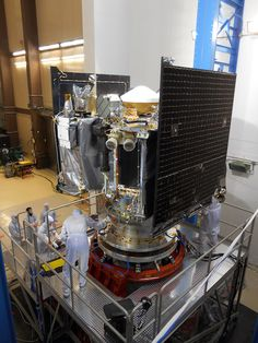 Lockheed Martin: Recently OSIRIS-REx spacecraft had a shaking experience. As a part of its environmental .