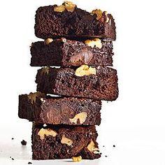 Classic Fudge-Walnut Brownies Recipe   MyRecipes.com