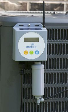 Mistbox, is a small solar-powered misting unit that mounts to the outside of the AC condenser, enabling the condenser to pull in cooler air for its operation during hot days. According to the company, this can reduce AC costs anywhere from 20-40% $399