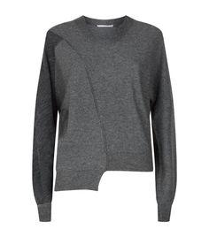 Women: Knitwear Stella McCartney Asymmetric Knit Sweater