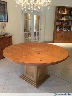 10 idees de table ronde mobilier de