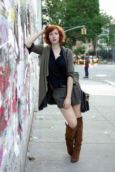 - #shorts #fall #boots