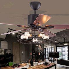 Restaurant Decke Ventilator Lichter Fan Helles Wohnzimmer Schlafzimmer Blatt Antike Elektrolfter Kronleuchter48