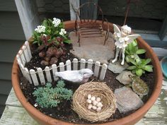 50 beautiful diy fairy garden design ideas (31) #miniaturefairygardens