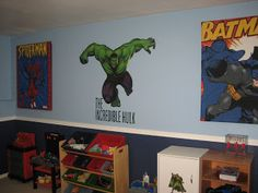 Cindy's Vinyl Creations: Super Hero Room - Finished!