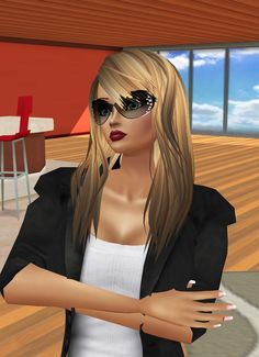 IMVU, the interactive, avatar-based social platform that empowers an emotional chat and self-expression experience with millions of users around the world. Virtual World, Virtual Reality, Cat Eye Sunglasses, Sunglasses Women, Social Platform, Imvu, Avatar, Pilot, Join
