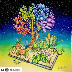Magnífico! By  @sseungei 👈 #selvamagica 매지컬정글 ; Magical Jungle [ No.7 ] ➡ The finished painting☺ ➡ Colored pencil, see the tag. ➡ Background ; Prisma Color Pencil. #매지컬정글 #MagicalJungle #컬러링북 #ColoringBook #조해너배스포드 #JohannaBasford  #ColoringArt #coluring #adultcoloringbook #mycreativeescape #jardimsecreto #파버카스텔폴리크로모스색연필 #스테들러카라트아쿠아렐 #Fabercastell  #Polychromos #ColorPencil #STAEDTLER  #KaratAquarell #ColorPencil #프리즈마유성 #Prisma #ColorPencil #책스타그램 #취미#일상 #힐링 #Healing