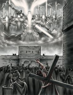 Oh Wow!!!!-Legions Of Heavenly Angels by Rive6.deviantart.com on @DeviantArt