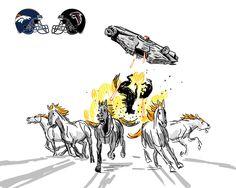 Falcons v Broncos