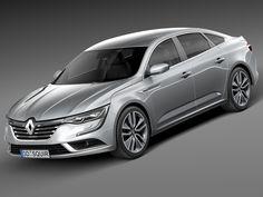 2016 Renault Talisman 3D C4d - 3D Model