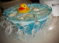 creative food ideas | Creative Food Ideas / Bathtub punch! Rubber duckie, you're the one.