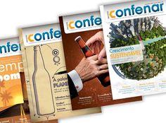 Revista Confenar - Publicação bimestral direcionada para toda a rede de revendas associadas à Confederação.