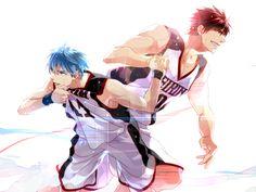 Kuroko Tetsuya & Kagami Taiga | Kuroko no Basket #anime