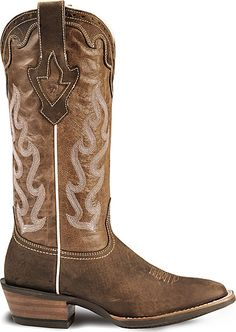 Ariat Crossfire Caliente Cowgirl Boot - Wide Square Toe~ I ♥ these! Cowgirl Dresses, Cowgirl Outfits, Cowgirl Clothing, Cowgirl Fashion, Womens Cowgirl Boots, Cowboy Boots, Lv Shoes, Me Too Shoes, Cute Country Outfits