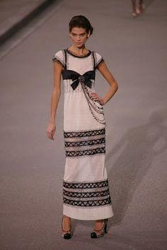 Chanel dress- Karl Lagerfeld.