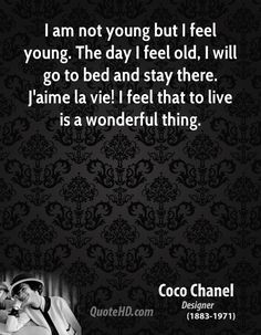 Coco Chanel Quote shared from www.quotehd.com