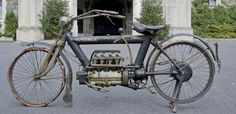 America's first four-cylinder motorcycle, the Pierce was manufactured by the…
