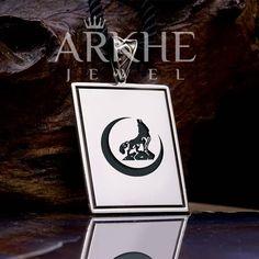 Bozkurt Figürü Gümüş Kolye - Arkhe Jewel