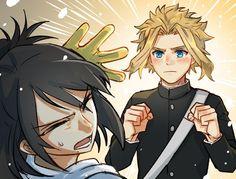 Yaoi, Fluff, Ships, AUs, and crossovers of BNHA pics! [None of the fanarts belong to me! They belong to their rightful owners!] Ranked: - Shota - Deku - Shoto - Katsuki Bakugou - All might - Ships [Jun my hero [Jun Boku No Hero Academia, My Hero Academia Memes, Hero Academia Characters, My Hero Academia Manga, Fanarts Anime, Manga Anime, Manhwa, Familia Anime, Rock Lee