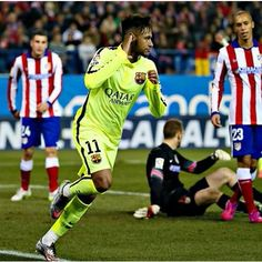 FC BARCELONA 3-2 ATLETICO MADRID (4-2)