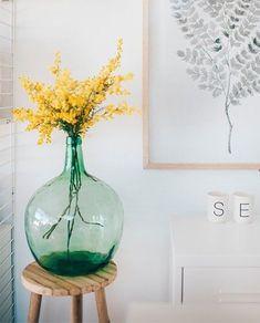 damajuana para decorar