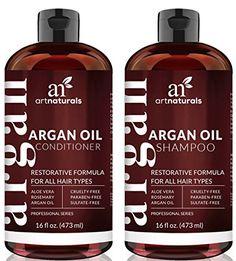 Art Naturals Organic Moroccan Argan Oil Shampoo and Condi...