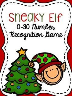 This is a fun and FREE game that your students will love to play around the holidays! Best of all, this resource includes two versions of the activity! The purpose of the game is to hide the elf behind a number (0-30), and then have the students guess where the elf is by naming the number.