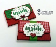 Tags & Trimmings Gift Card Wallet by LeeAnn Greff