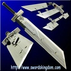 I found 'Multiblade Advent Children Buster Sword 44'' Final Fantasy' on Wish, check it out!
