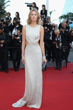 Toni Garrn - Premiere of 'The Little Prince' during the 68th annual Cannes Film Festival
