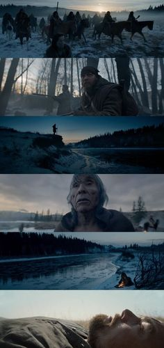 In this article, we look back on some of last year's best cinematography - The Revenant (2015) #Cinematography