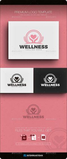 Wellness  - Logo Design Template Vector #logotype Download it here: http://graphicriver.net/item/wellness-logo/11866154?s_rank=1744?ref=nesto