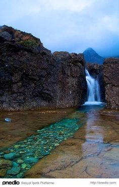 Fairy Pools, Skye Adası, İskoçya