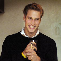 Prince William may not be the most handsome man around, but his boyish smile is just so natural that you cannot help, but fall for it's charm.
