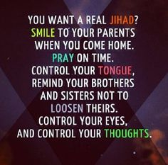 what jihad really is