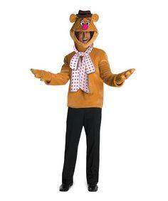 Loving this Fozzie Bear Costume - Men on #zulily! #zulilyfinds  sc 1 st  Pinterest & Fozzie Bear Standard Halloween Costume for Men | Products