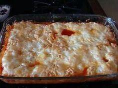 Pizza breadstick casserole
