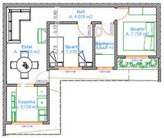 planta baixa casa 3 quartos simples - Pesquisa Google