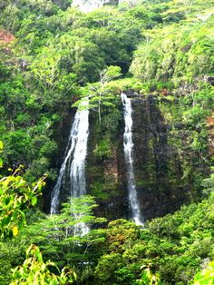 Kauai's Opaeka'a Falls