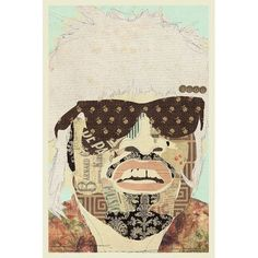 """Mercury Row Andre 3000 Graphic Art on Wrapped Canvas Size: 60"""" H x 40"""" W x 1.5"""" D"""