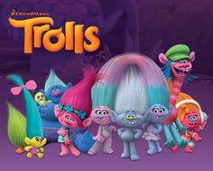 Trolls Trolls Characters - Mini Poster