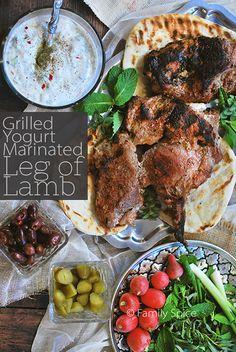 yogurt marinated leg of lamb grilled yogurt marinated leg of lamb by ...