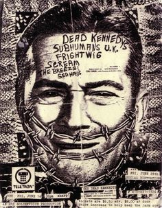 Dead Kennedys, Subhumans U.K., Frightwig, Scream, The Breeze and Sea Hags