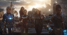 """Marvel actresses tell Kevin Feige they want an all-female superhero movie. Captain Marvel actor Brie Larson reveals they """"passionately"""" suggested the movie idea to the Marvel Studios president. Female Superhero, Superhero Movies, Marvel Movies, Marvel Women, Marvel Heroes, Captain Marvel, Marvel Girls, Marvel Fan, Marvel Avengers"""
