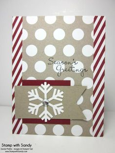 Season's Greetings by stampwithsandy - Cards and Paper Crafts at Splitcoaststampers